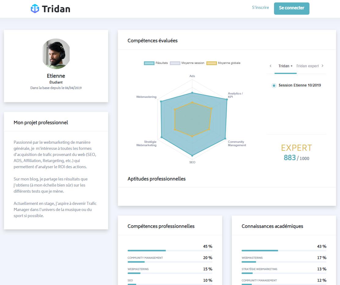 visuel Partagez le lien public de votre profil aux recruteurs
